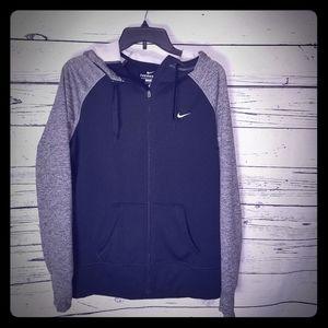 Mens nike therma-fit zip up hoodie